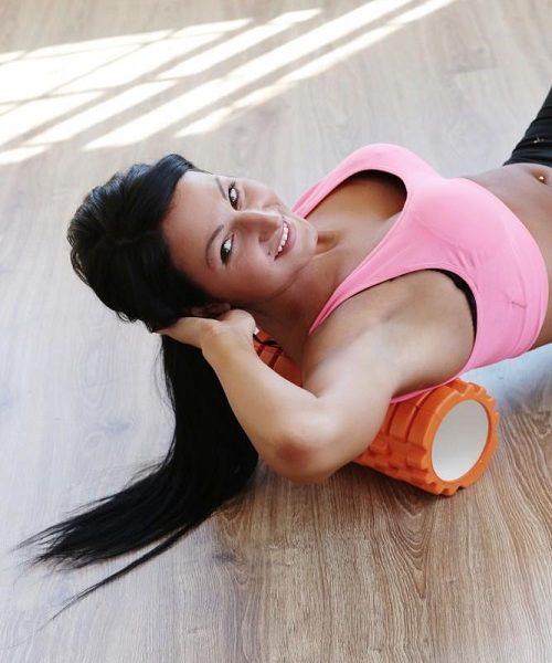 Cilinder Per Yoga Dhe Ushtime, Joga Roller, Diameter 13 Cm